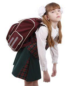 Schoolgirl Is Tired