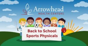 Back to school sports physicals