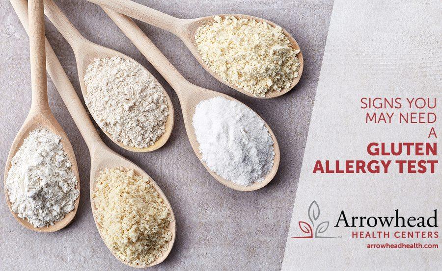 gluten allergy test