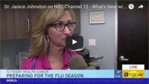 Dr Johnston Ch12 News Interview: New Flu Shots (Video)