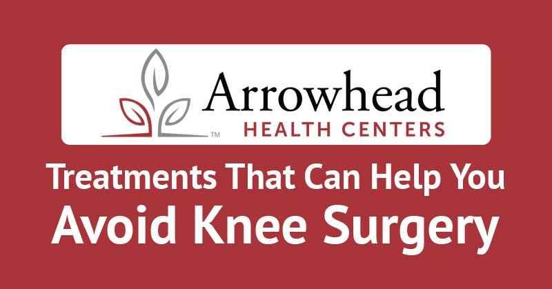 Treatments That Can Help You Avoid Knee Surgery
