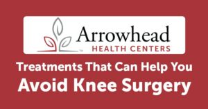 Treatments That Can Help You Avoid Knee Surgery (Infographic)