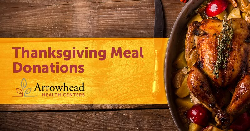 thanksgiving meal donations