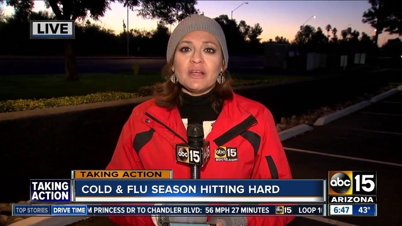 Cold & Flu Season Hitting Hard – Dr. Johnston on ABC 15 (Video)
