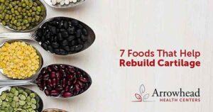 Foods that help rebuild cartilage