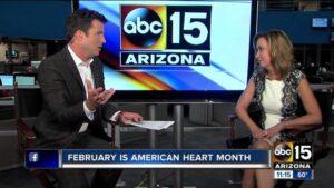 Dr. Johnston Talks Heart Health on ABC 15 (Video)