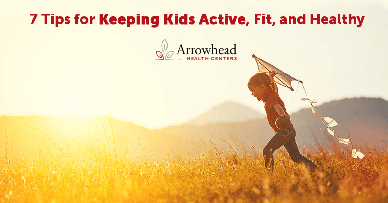 Tips for Keeping Kids Active