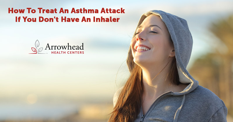 Asthma Attack if you don't have an inhaler