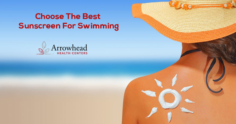 Sunscreen for swimming