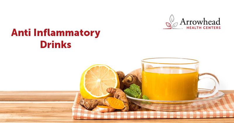 anti-inflammatory drinks